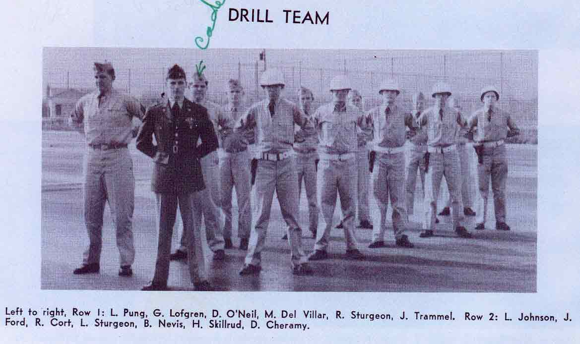 Year Book Picture.  Drill Team
